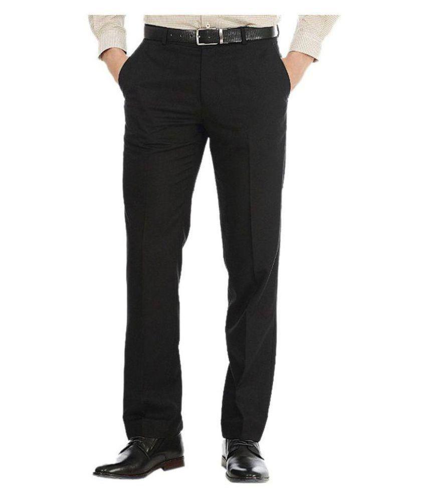 Tarkshyam Trendz Multi Slim -Fit Flat Trousers