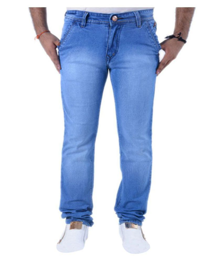 Benzora Light Blue Slim Jeans