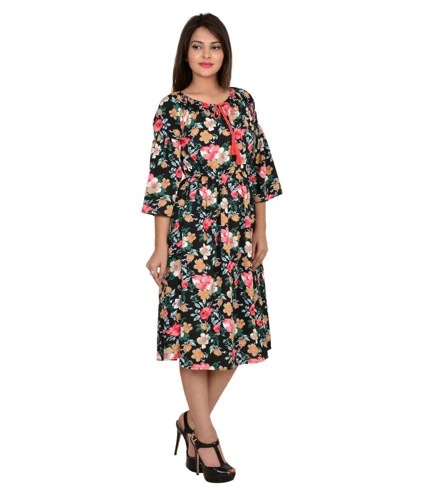 4d46e1055b36 GOODWILL Crepe Dresses - Buy GOODWILL Crepe Dresses Online at Best ...