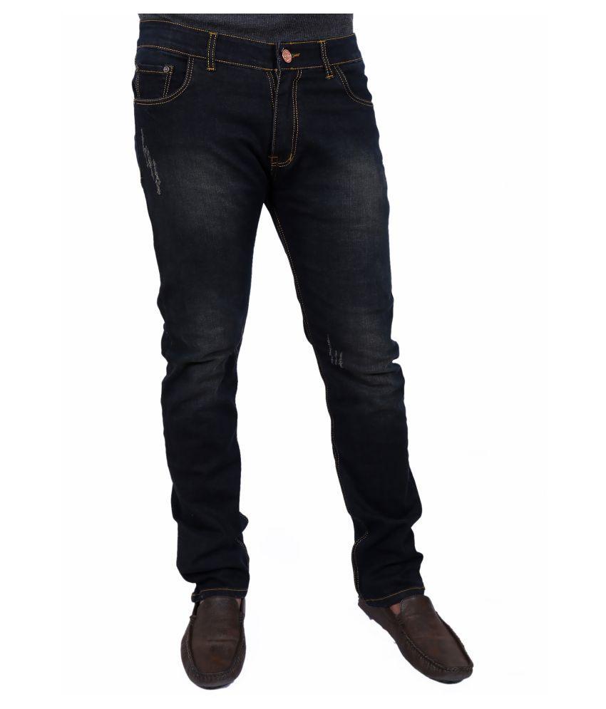 DE NIMES Multicolored Straight Jeans