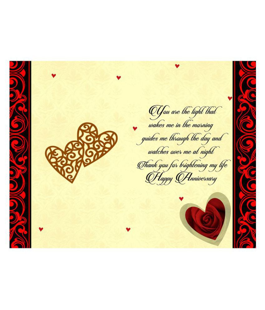 Results For Anniversary Greeting Cards For Husband Online Shopping
