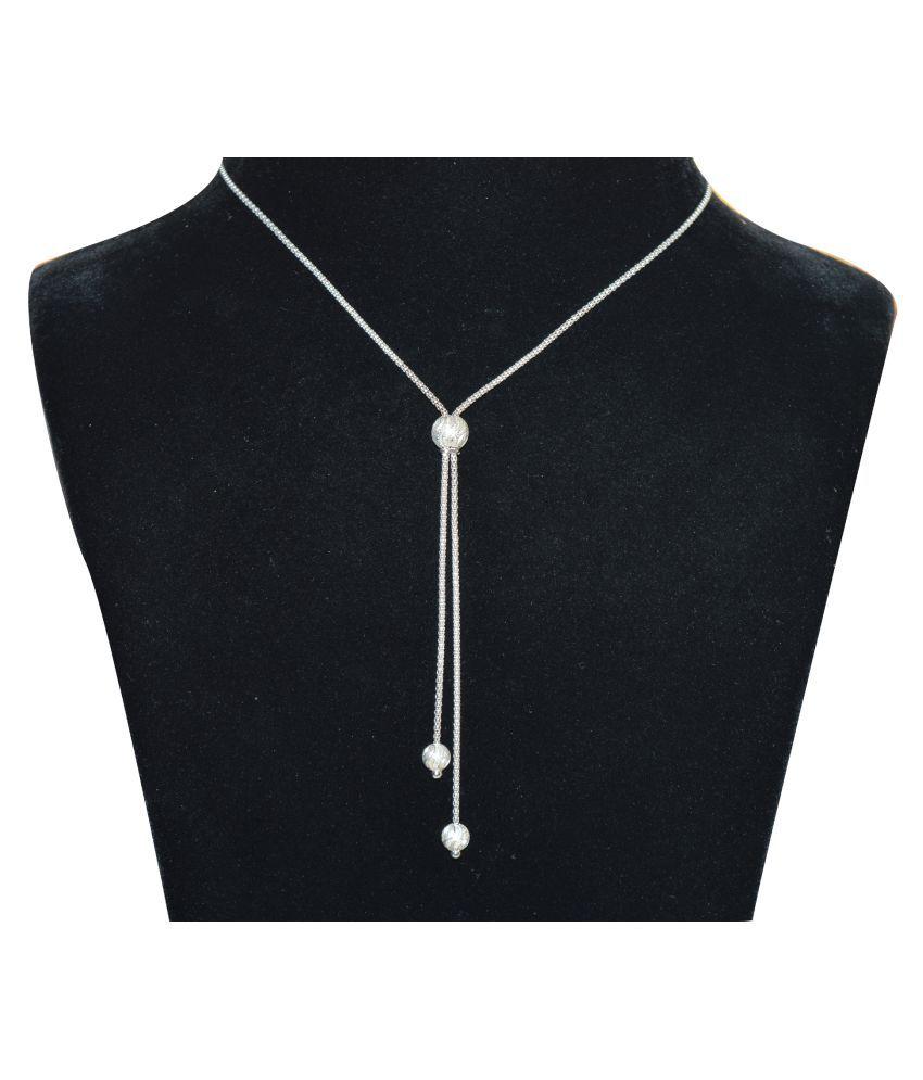 Kataria Jewellers 92.5 BIS Hallmarked Silver Necklace