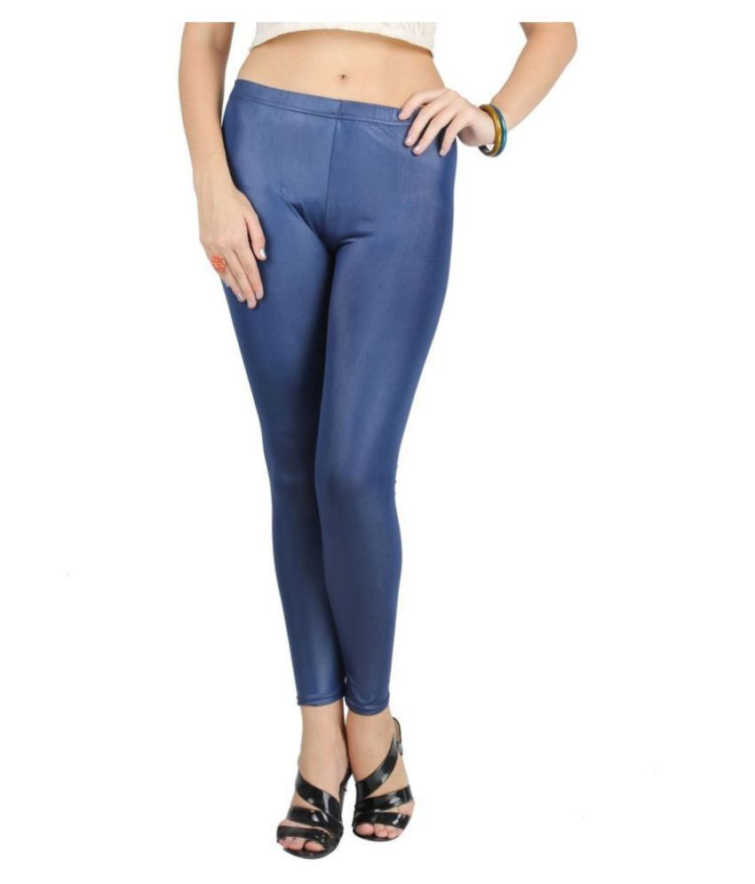 Timbre Faux Leather Jeggings