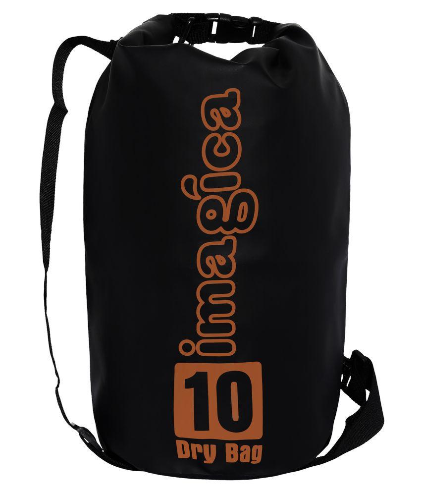 Imagica Black Solid Duffle Bag