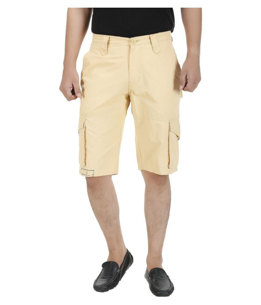 Koutons Outlaw Beige Shorts