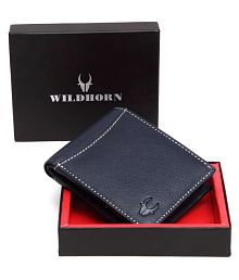 WildHorn Leather Black Casual Regular Wallet
