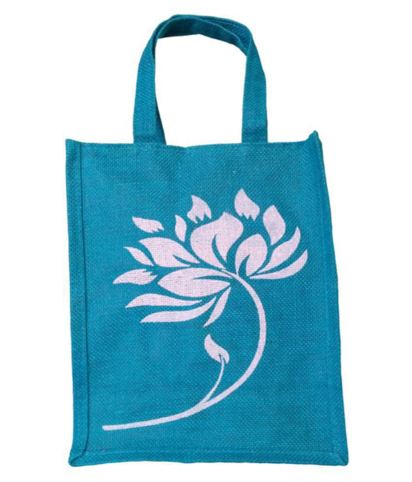 grean Blue Lunch Bags - 1 Pc