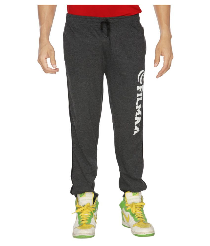 Filmax Grey Cotton Trackpants Single