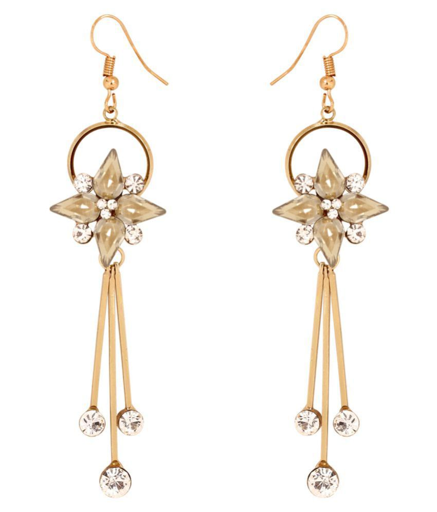 Penny Jewels Antique Hanging Fancy Stylish Gorgeous Sparkling Earrings Set For Women & Girls