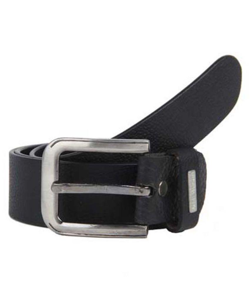 Aditi Wasan Black Leather Formal Belts