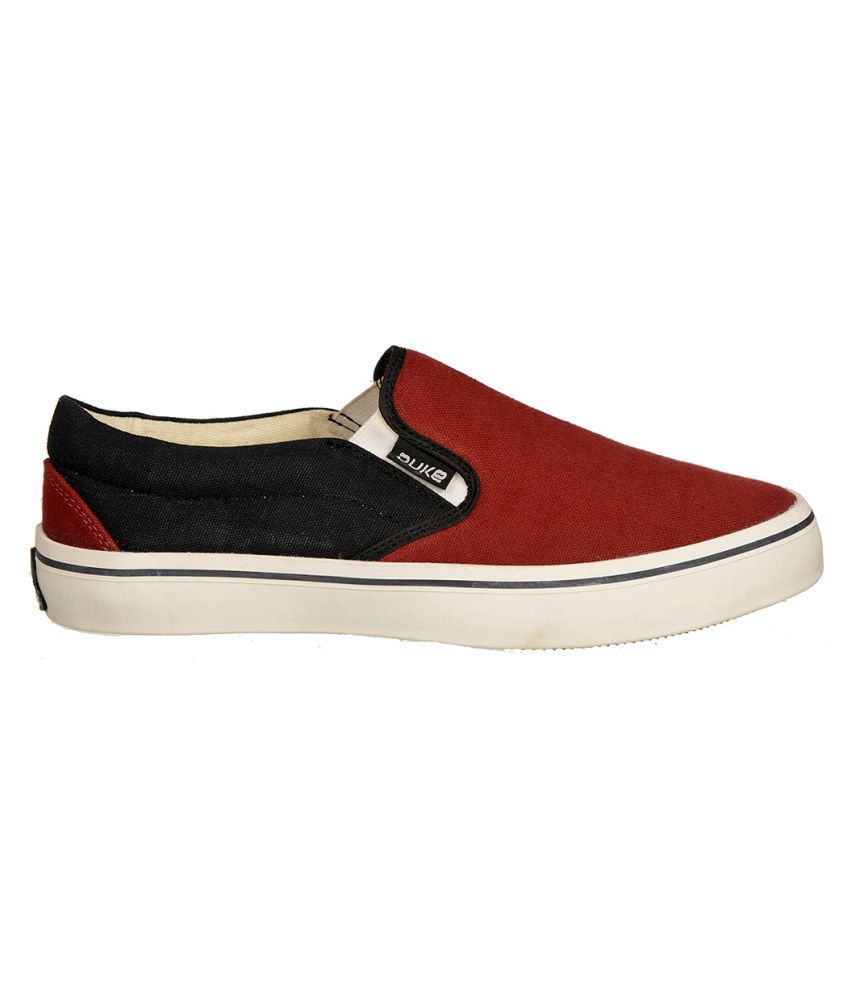 cheap pre order 2014 new online Duke Men Sneakers Maroon Casual Shoes outlet visit new sale amazon upxNIZMLn