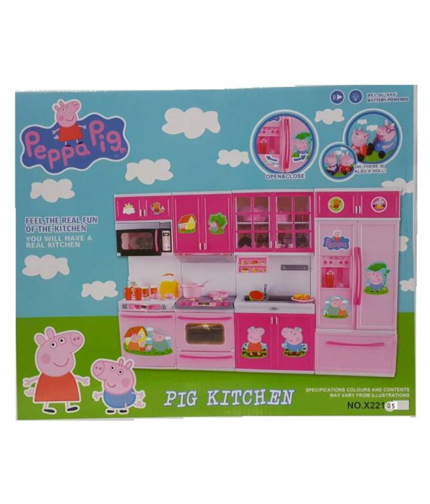 New Peppa Pig Kitchen Set Toy