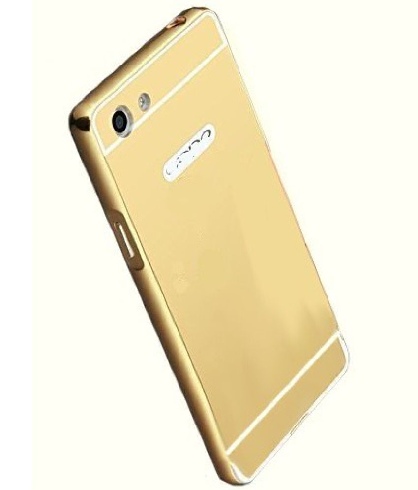competitive price 234f5 a90bc VIVO Y55S Mirror Back Covers 2Bro - Golden