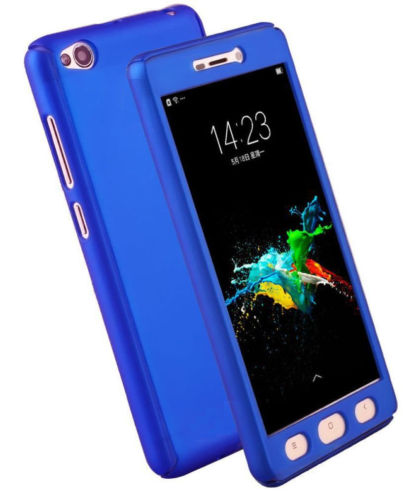 more photos 7bf56 71420 VIVO Y55S Plain Cases 2Bro - Blue