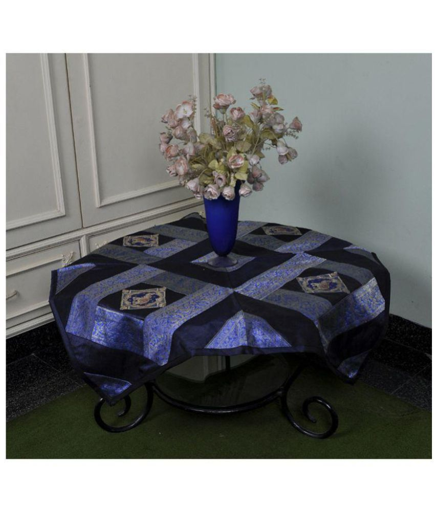 Lal Haveli 4 Seater Silk Single Table Covers