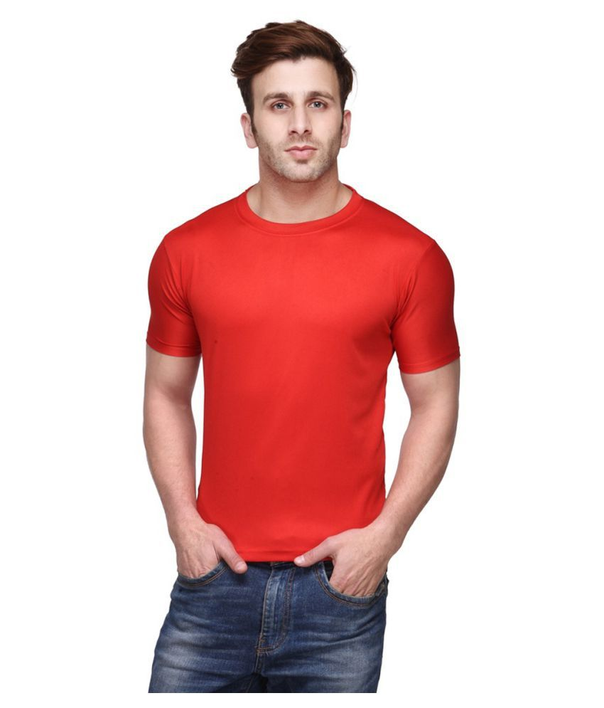 CONCEPTS Red Polyester T-Shirt Single Pack