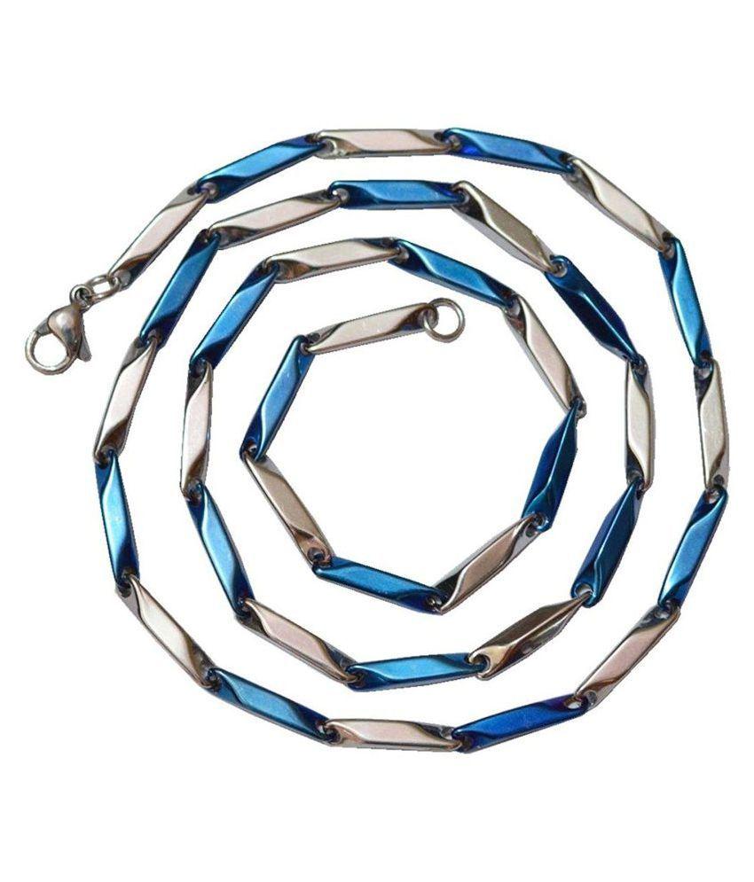 Multiline Company Multicolor Sterling Chains For Men