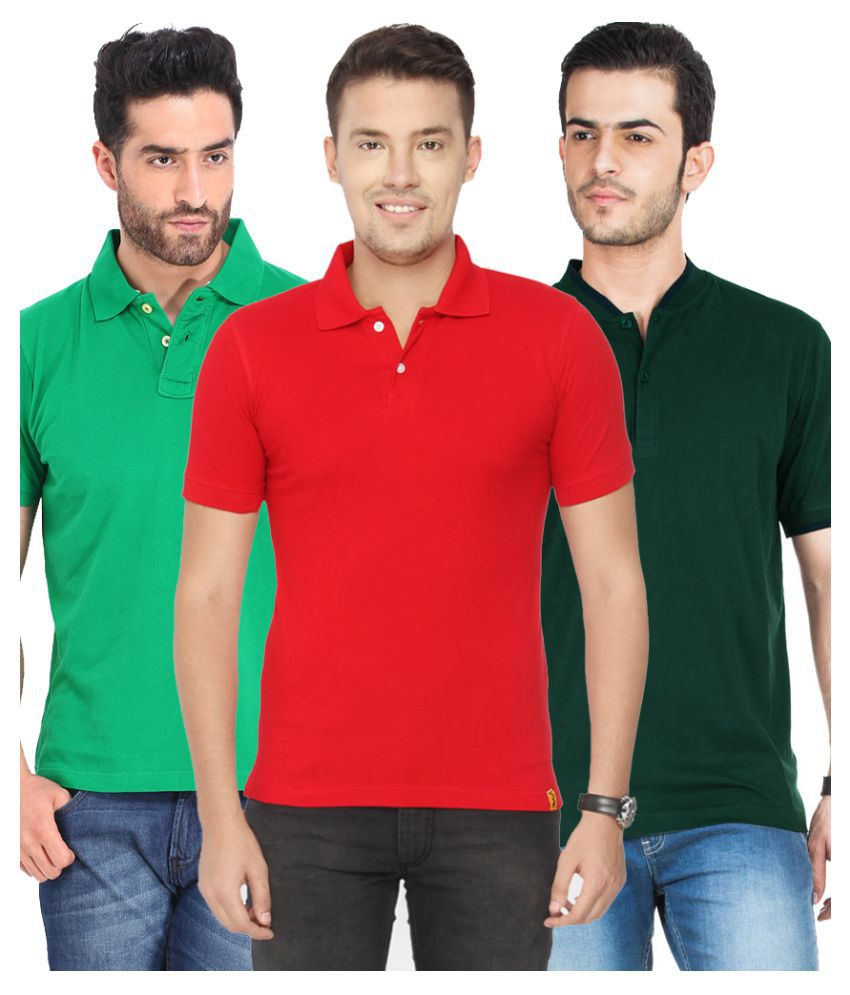 CONCEPTS Multi Henley T-Shirt Pack of 3