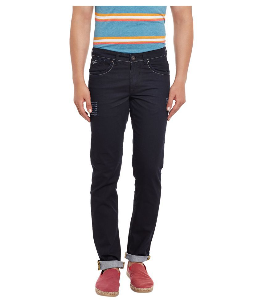 Canary London Black Regular Fit Jeans