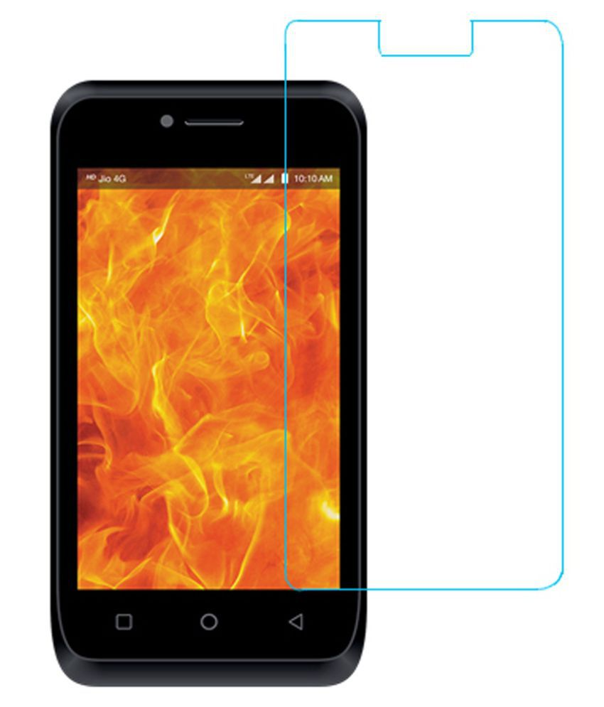 LYF Flame 4 Tempered Glass Screen Guard By KFDC