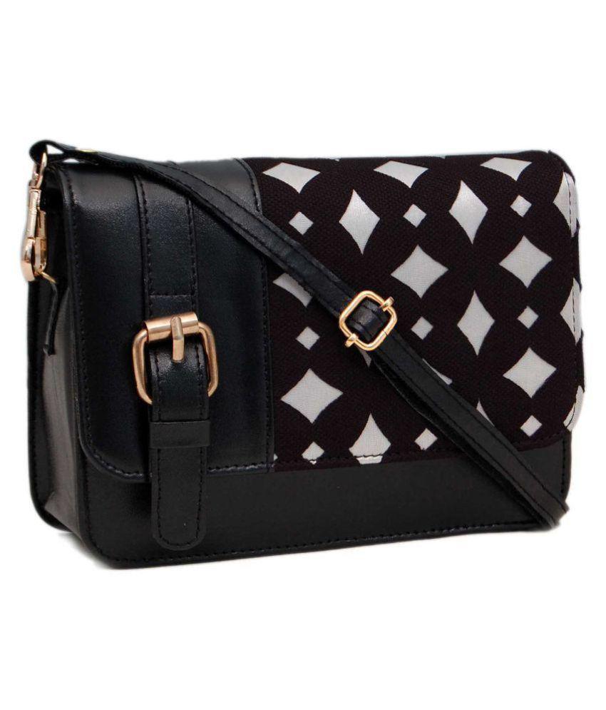 Borse Bag Legnano : Borse black faux leather sling bag buy