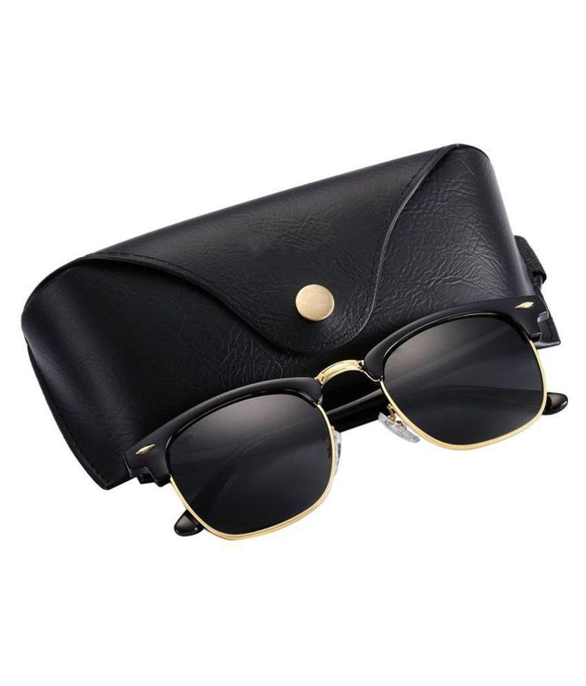 7167e03d5102 Dio Moda Black Clubmaster Sunglasses ( UV400 ) - Buy Dio Moda Black  Clubmaster Sunglasses ( UV400 ) Online at Low Price - Snapdeal