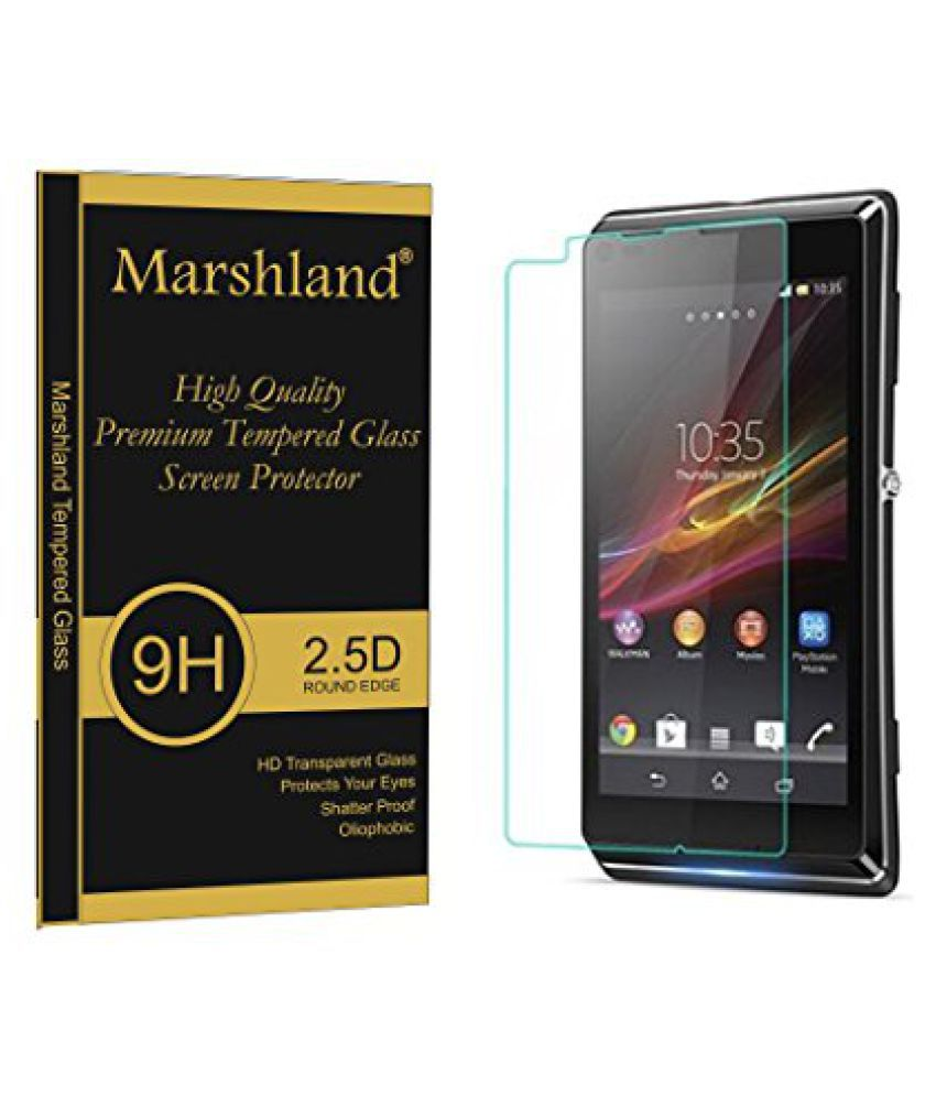 Sony Xperia L Anti Shock Screen Guard By Marshland