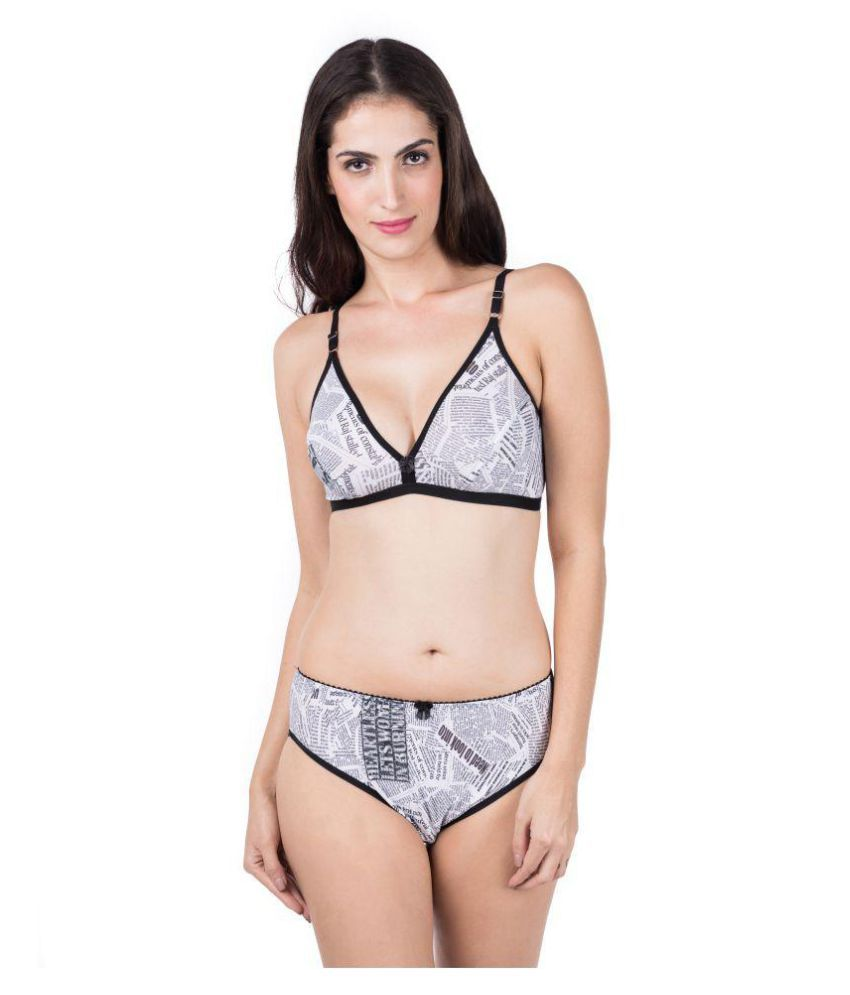 c8f69778fb Buy Femate Cotton Lycra Bra and Panty Set Online at Best Prices in India -  Snapdeal