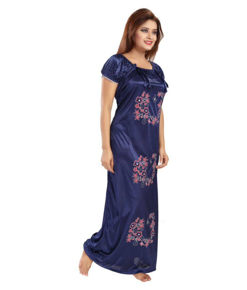 bcd2c06e40 Buy Khushfashions Satin Nightsuit Sets Online at Best Prices in India -  Snapdeal