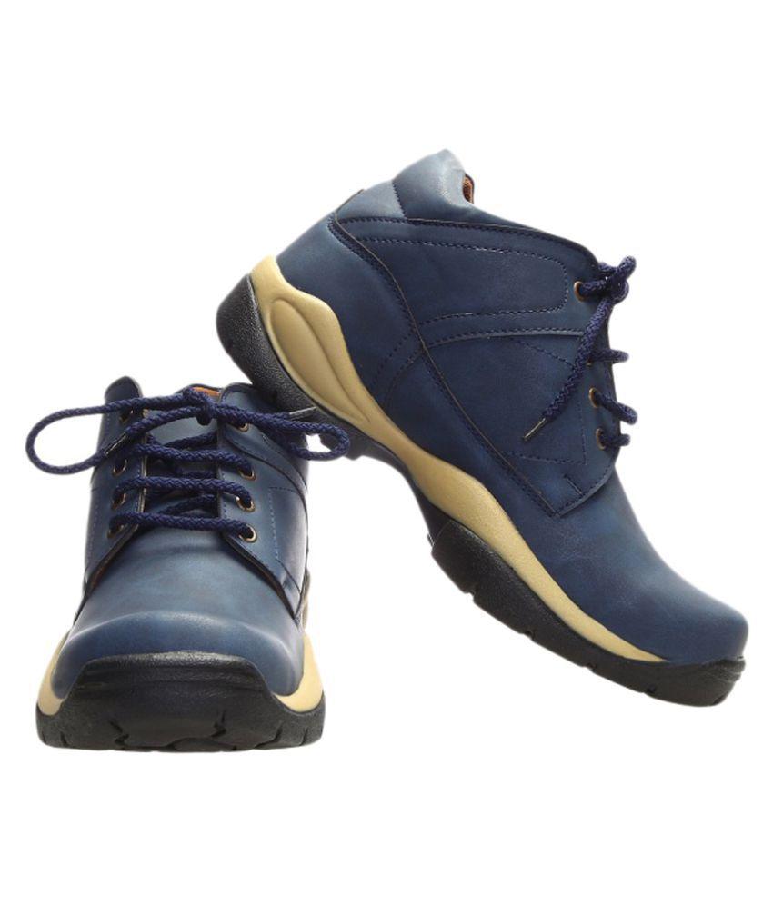 Catbird Blue Formal Boot