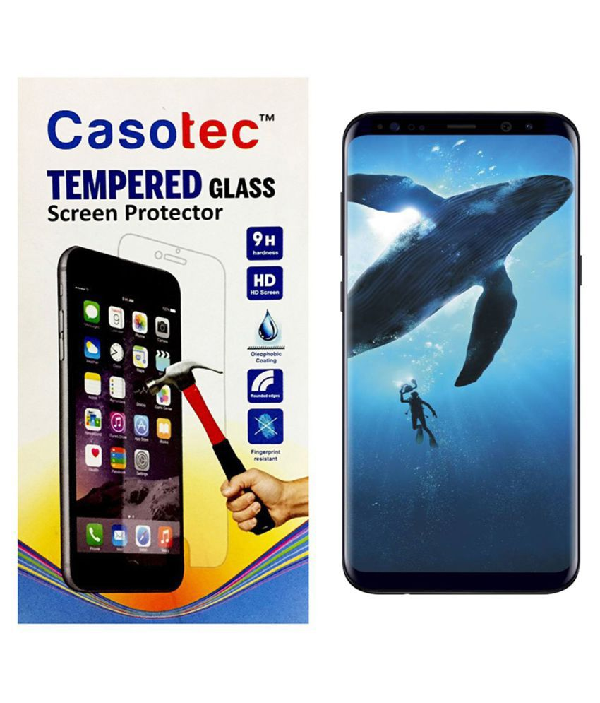 Galaxy S8 Plus Tempered Glass Screen Guard By Casotec