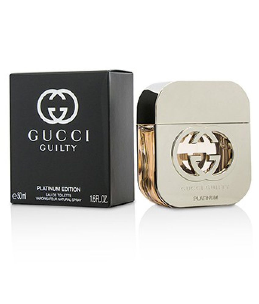 ab6eb4fe7e Gucci Frags Guilty Platinum Edition Eau De Toilette Spray 50ml/1.6oz: Buy  Online at Best Prices in India - Snapdeal