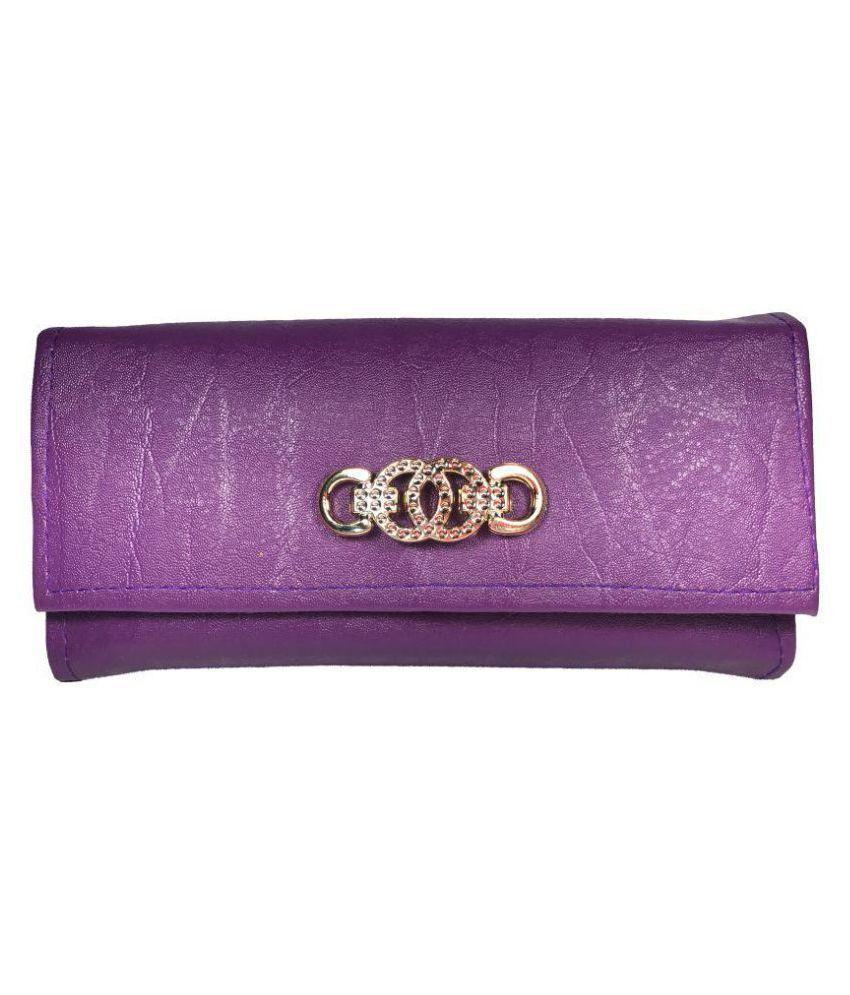 Bizarre Vogue Purple Wallet