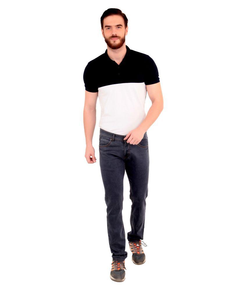 Tim Robbins Grey Slim Jeans