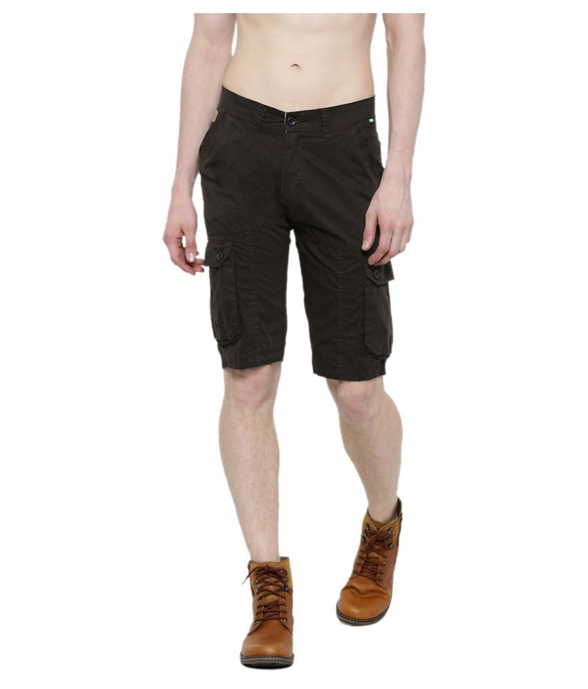 SPORTS 52 WEAR Brown Shorts