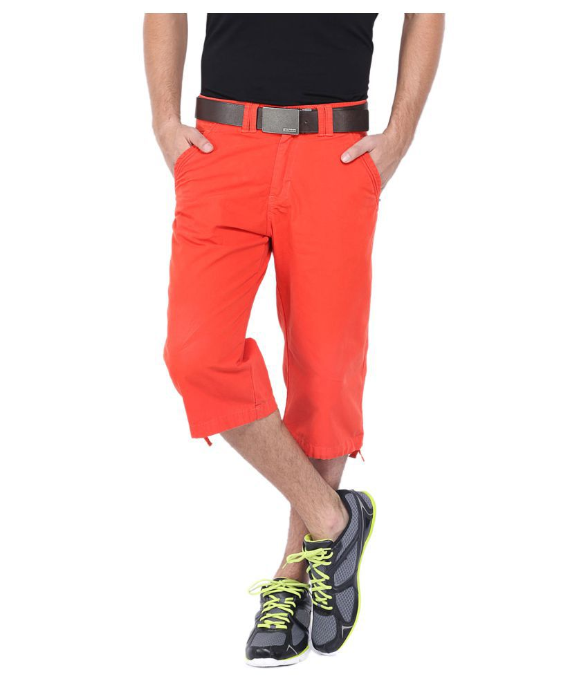 SPORTS 52 WEAR Orange Shorts