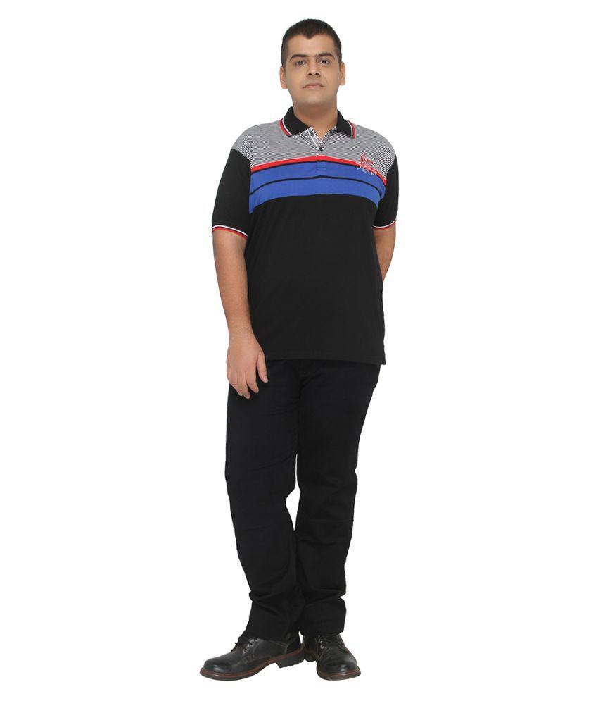 XMEX Black Round T-Shirt