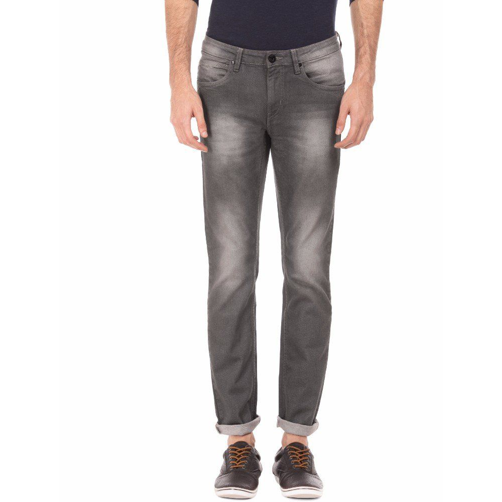 Flying Machine Grey Skinny Jeans