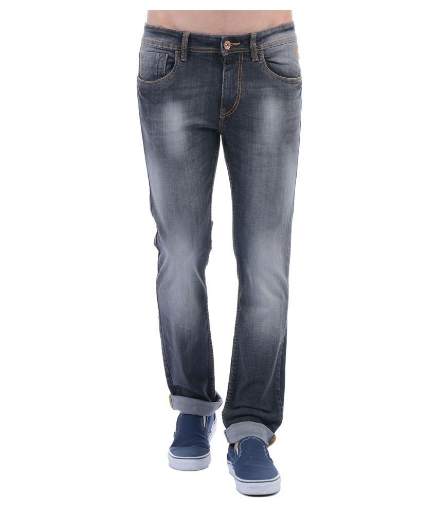 Flying Machine Black Slim Jeans