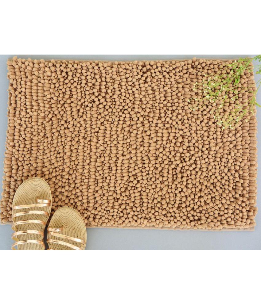 NestRoots Off White Single Anti-skid Floor Mat