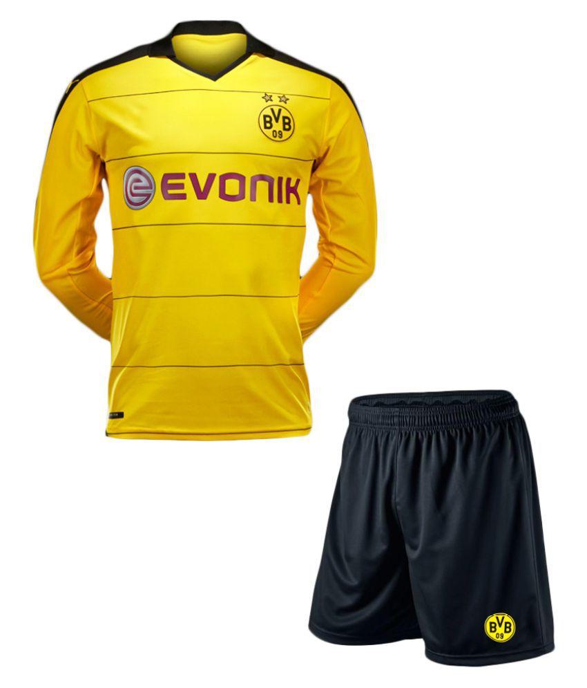 Dortmund Yellow Polyester Jersey