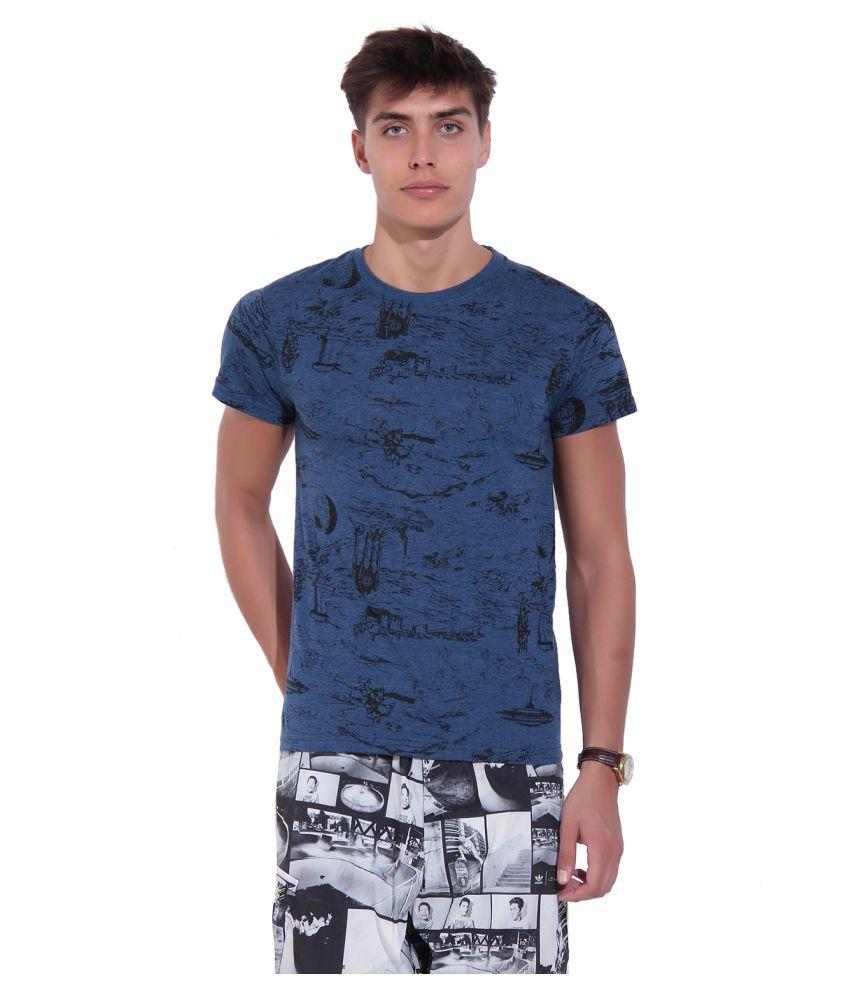 TAB91 Blue Round T-Shirt