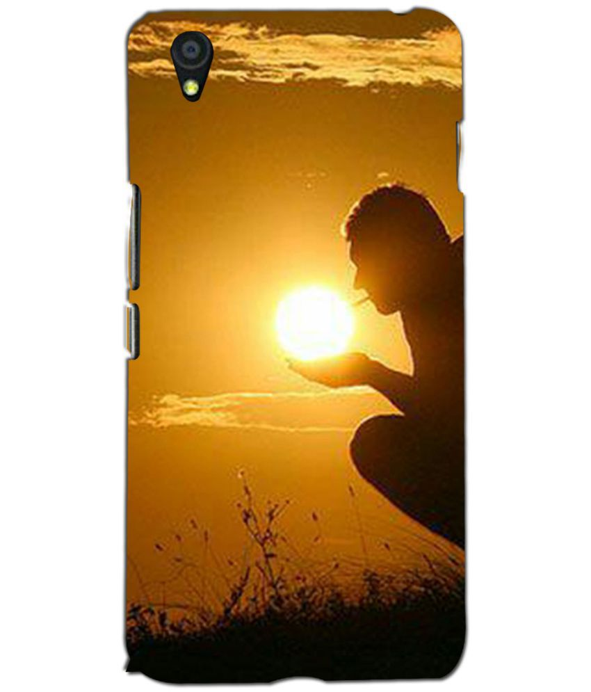One Plus X Printed Cover By Printvisa