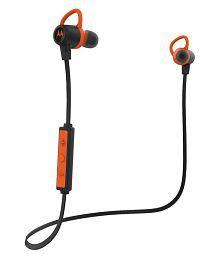 Motorola Verve Loop On Ear Headset With Mic Orange & Black
