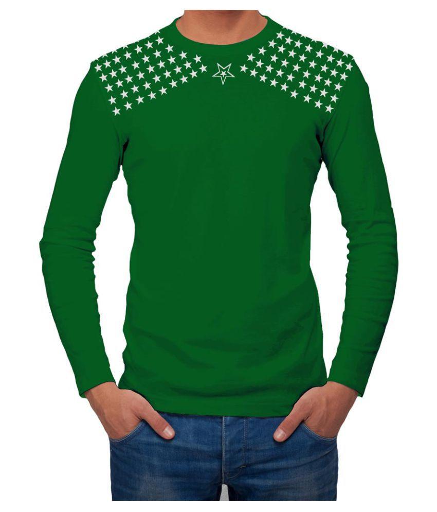 AALRYT Green Round T-Shirt