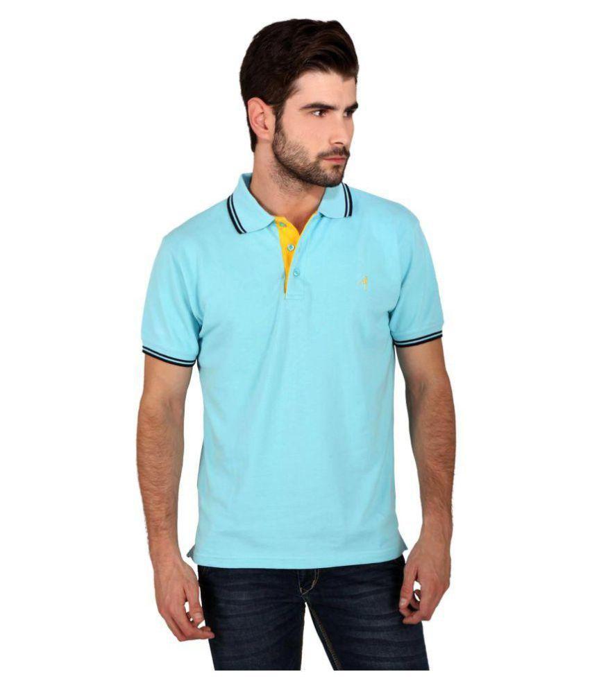 Attabouy Blue Round T-Shirt