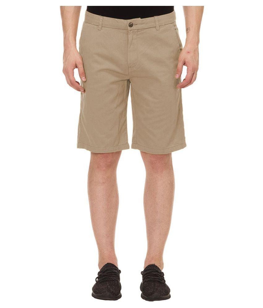 KOTTY Beige Shorts