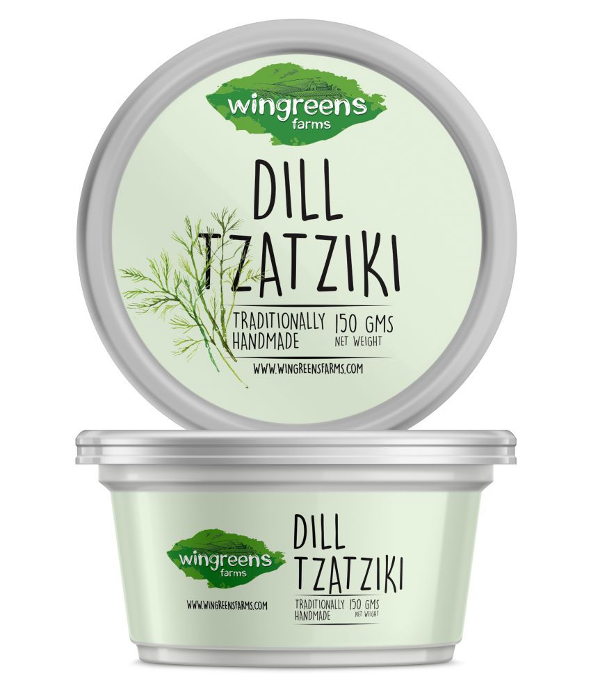 Wingreens Farms Dill Tzatziki 150 gm