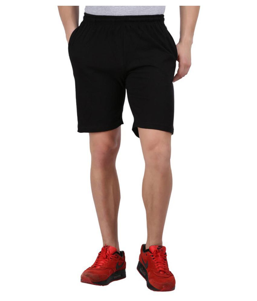 Gallop Black Shorts