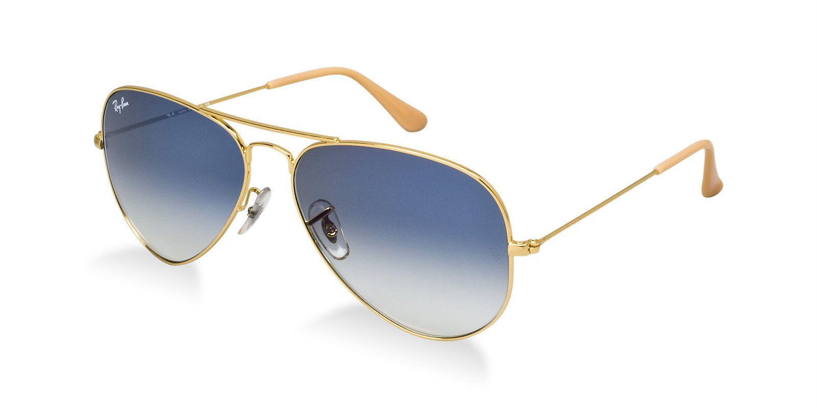 e95b1221e37 ... Ray-Ban Blue Aviator Sunglasses ( RB3025 001 3F 58-14 ) ...